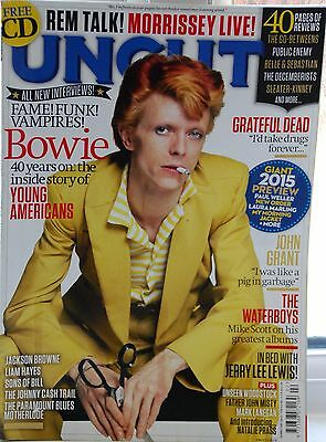 David Bowie Uncut Magazine February 2015