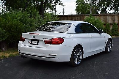 2017 BMW 4-Series 2 DOOR 2017 BMW 430i CONVERTIBLE SALVAGE M4 M3 335I S5 S4 C300 C63 NO RESERVE!