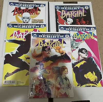 DC Rebirth Batgirl Lot 1 2 3 4 5 First Prints