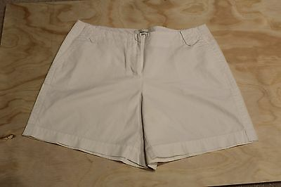 Womens Country Road White Shorts Size 10 Worn once