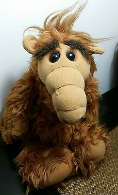 VINTAGE RETRO COLLECTABLE - ALF - PLUSH iconic 80's  TOY : 1986 ORIGINAL