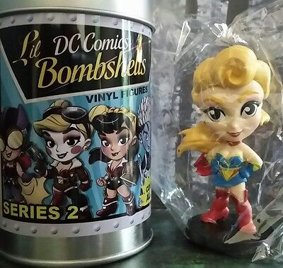 New Series 2 Cryptozoic Lil Dc Bombshells Vinyl Figure Supergirl