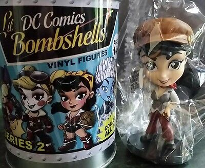 New Series 2 Cryptozoic Lil Dc Bombshells Vinyl Figure Lois Lane