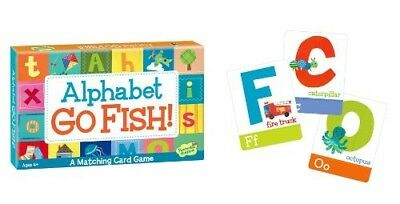 Alphabet Go Fish Match Up Game. Peaceable Kingdom Press. Shipping Included