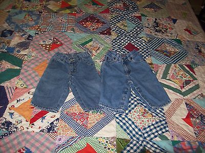 Mixed Lot Assorted (2) Name Brand Boy's/girl's (6-12M) #m27 Great Buy!