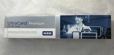 NEW Box of 500 HID UltraCard Premium CR-80 PVC Cards HICO