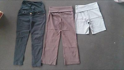 Maternity pants and shorts - size 10