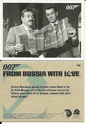 James Bond 50th Ann. 2012 - From Russia With Love Throwback card lot {24}