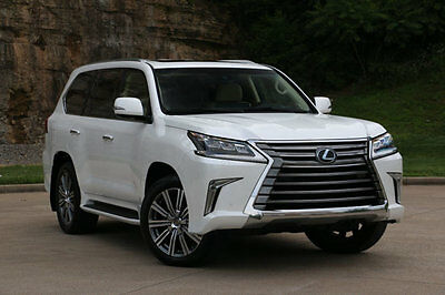 2016 Lexus LX 4WD 4dr LX570, $97k MSRP, Dual Screen DVD, Mark Levinson, Lux Pkg, Loaded w Every Option