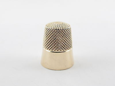 14K Yellow Gold Sewing Thimble # 8