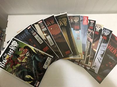 PUNISHER (2016 vol. 11) #1 2 3 4 5 6 - 12 Full Run Lot Marvel Comics Daredevil