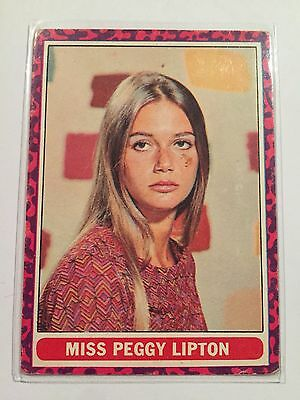 SCANLENS 1968 Mod Squad Card - #51 Miss Peggy Lipton
