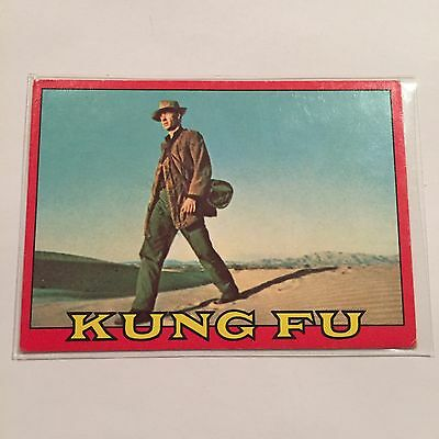 SCANLENS 1973 Kung Fu Collectible Card #6