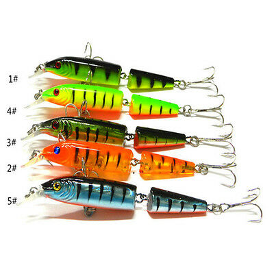 Fish Tackle Outdoor Fishing Lures Spinner Crankbaits Hooks Baits Assorted 1PC