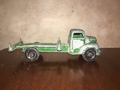 Metal Flatbed Toy Truck