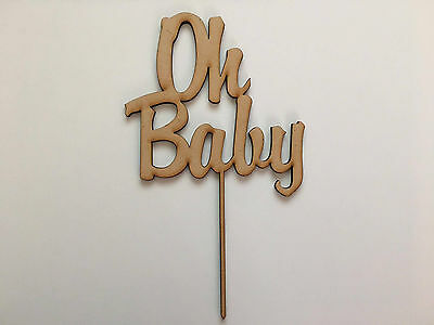 Oh Baby | Cake Topper {Brody Font}