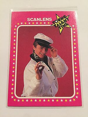 YOUNG TALENT TIME Tv Series 1986 Collectible Card #12 Mark Stevens