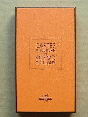 Hermes Paris Knotting Cards In Box, 2010