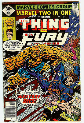 Marvel Two-In-One #26 (Apr 1977, Marvel)