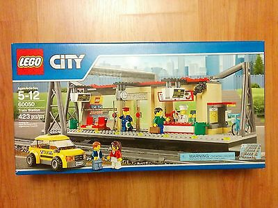 Lego City 60050 Trains Station - New In Sealed Box