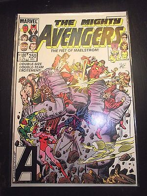 The Mighty Avengers #250 The Fist of Maelstrom (1984) VF