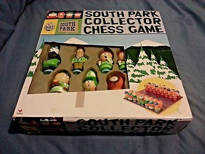 South Park Collector Chess Game Complete - Great Condition