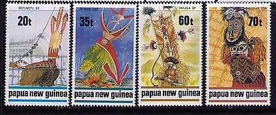 Papua New Guinea Stamps SC# 721-4 Cpl. MNH Set