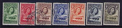 BECHUANALAND PROTECTORATE  STAMPS ,QEII SC# 154-9;161 MH/Used
