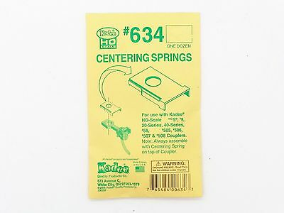 Kadee Couplers #634 - 12 to a packet - FREIGHT 1-10 UNITS $2.50 IN total