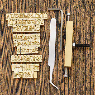 1pc Leather Mold Stamping For Custom Design Brass Embossed Dies Foil Hot Stamps