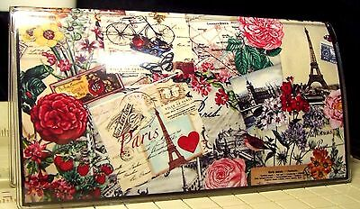 PARIS Checkbook Cover Makes a GREST GIFT,  NEW        FREE SHIPPING
