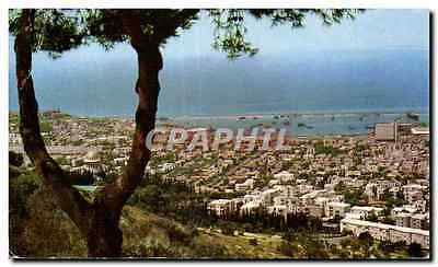 Israel - Haifa - Main view from Mt Carmel - CPA