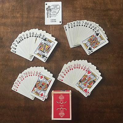 EXTREMELY RARE Silver Nugget Casino Playing Cards Uncancelled