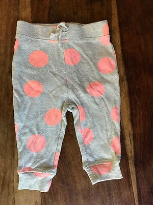 Seed Heritage Baby Girl Pants 6-12 months