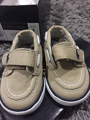 baby boys Ralph Lauren Shoes 2 Pairs Size 1