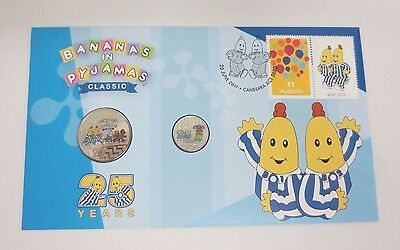 Australia - 2017 - Bananas in Pyjamas PNC (registered post delivery)