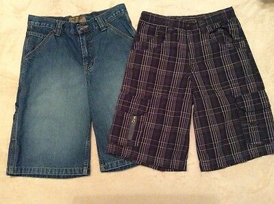 Lot of 2 Boys Painters/Cargo Shorts Size 12