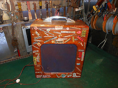 National De-Luxe by Valco Vintage 1950s Electric Guitar Tube Amplifier 1260