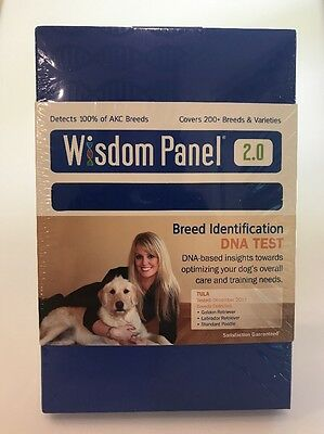 Wisdom Panel 2.0 Breed Identification DNA Test Covers 200+ Breeds & Varieties