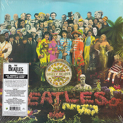 THE BEATLES Sgt Pepper's Lonely Hearts Club 180gm Vinyl LP 2014 MONO NEW SEALED
