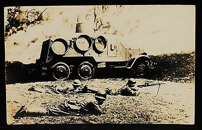 WW2 Imperial Japanese Army Photo '' Armored Car '' from Japan 94