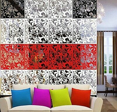 40 Folding Screen Room Divider Hanging Screens Wall Panels DIY Home Decoration