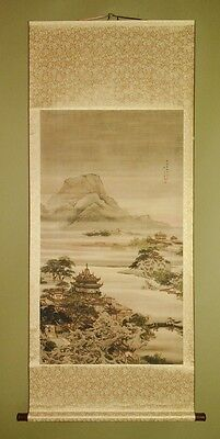 Chinese Hanging Scroll Landscape Painting Asian art China Pic Print Picture b468