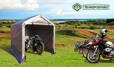 1.8x1.8m Garden Garage Motor Shade Shed Bike Shelter Weather Protection Cover