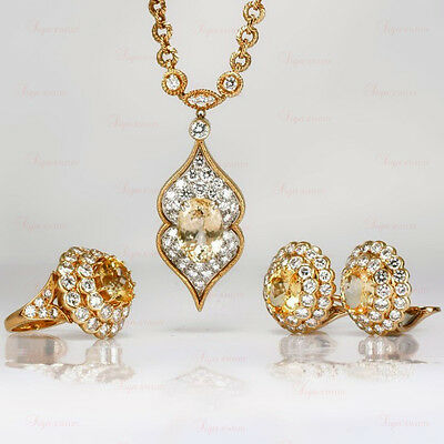 VAN CLEEF & ARPELS Estate 18k Yellow Gold Jewelry Set from Lucille Ball