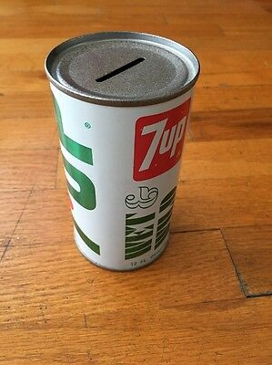 7UP Wet & Wild Can Bank