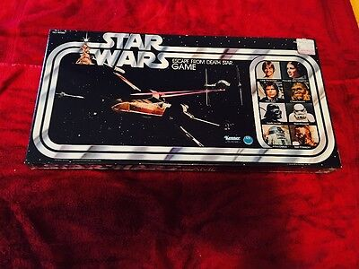 Vintage  Star Wars Escape From The Death Star Game Sealed 1977 MISB
