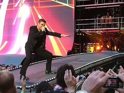 GEORGE MICHAEL in concert Wembley Stadium 2007! 60 Exclusive PHOTOS 6x4! not cd