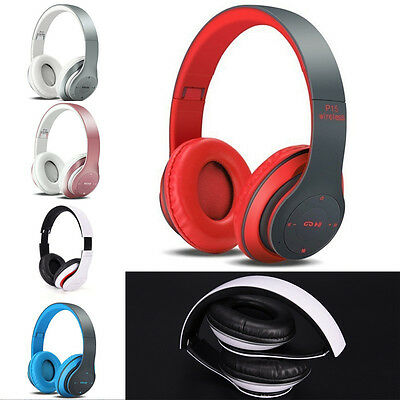 Special Sport Wireless Bluetooth 4.1 Headphone Headset With Mic AUX TF Card P&T