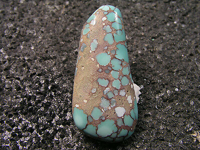 20.45ct 100% natural HuBei AAA loose spiderweb turquoise cabochon gemstone t1667